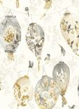 Kyoto Koi Bonbori Beige Wallpaper 98642 By Holden